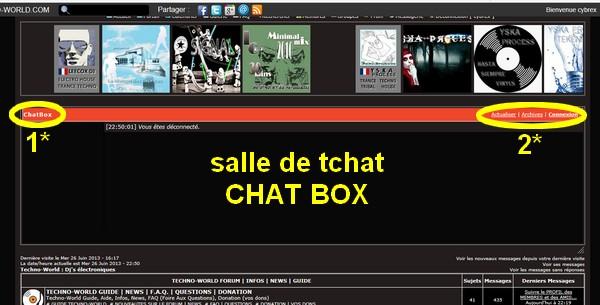 La SALLE de TCHAT   CHAT BOX   Comment se connecter ? Guide__chatbox01