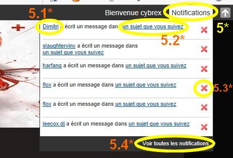 """La """"TOOLBAR"""" en haut du forum. Qu'est-ce que c'est ? Guide__toolbar2"""