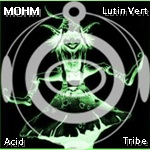 [TECH-HOUSE MINIMALE] CYBREX - Black Shadows (2013) DJ_MOHM_Lutin_vert
